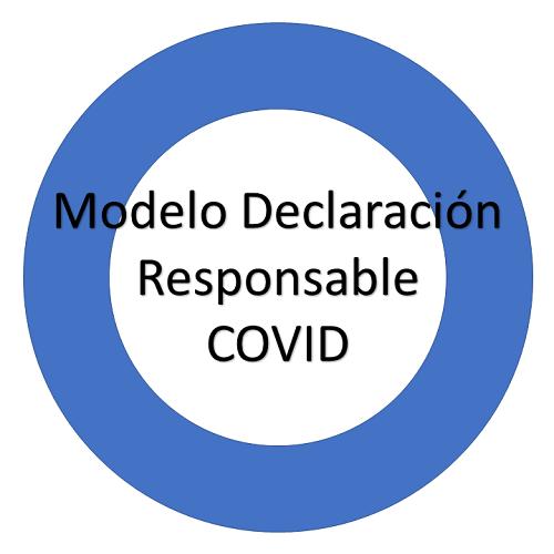 Modelo de Declaración Responsable COVID