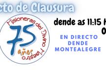 CLAUSURA 75 ANIVERSARIO DIVINO MAESTRO