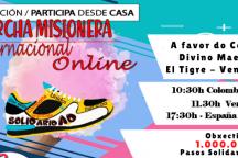 1ª Marcha Misioneira Internacional