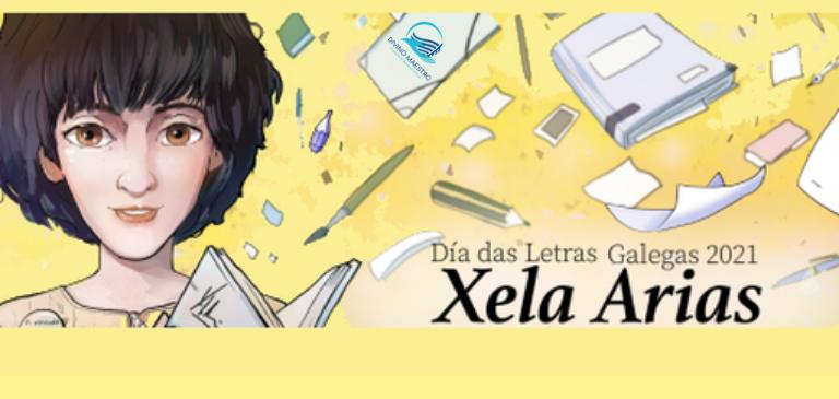 Letras Galegas 2021 Xela Arias