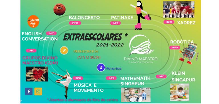 Extraescolares 2021-2022 Cartesis